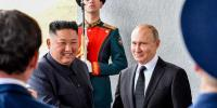 Kim Putin Vow To Seek Closer Ties At First Talks