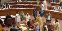 Female Opposition Mnas Protest Over Pm Referring To Bilawal As Sahiba