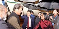 Prime Minister Imran Khan Arrives At Beijing China
