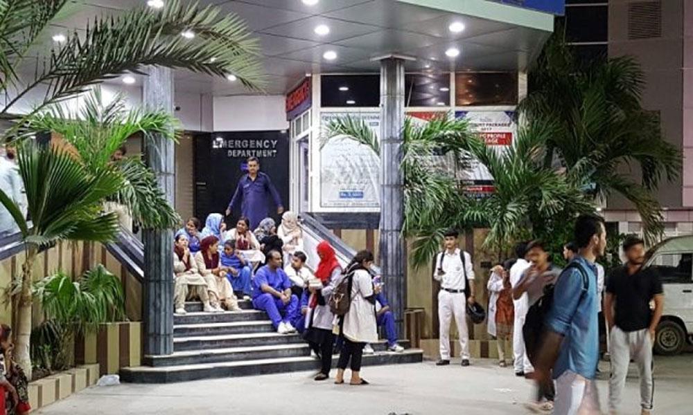 دارالصحت انتظامیہ کو مریض داخل کرنے سے روک دیا گیا