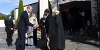 Prince William Visits Christchurch Mosques