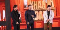Shah Rukh Khan Salman Khan Aamir Khan Meet At Mannat