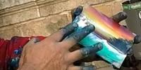 Amazing Artist Master Finger Painter Fast Painting Spain
