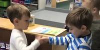 Kindergartners Greeting Routine Will Warm Your Heart