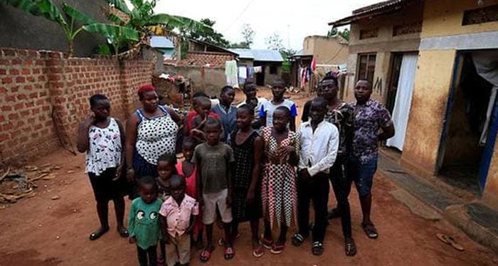 یوگنڈا کی خاتون 38بچوں کو اکیلے پال رہی ہیں