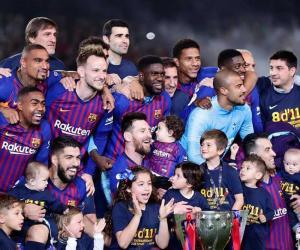 بارسلونا نے لالیگا لیگ ٹائٹل اپنے نام کرلیا