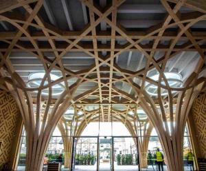 کیمبرج میں یورپ کی پہلی ماحول دوست مسجد