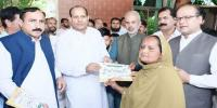 Dowery Articles For 100 Families Distributed By Pml N Japan