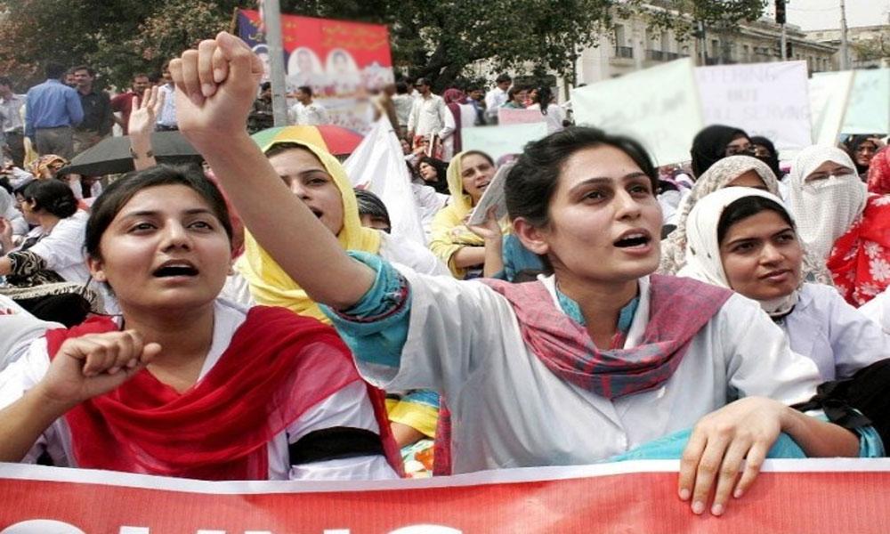 پنجاب کے کئی شہروں میں ینگ ڈاکٹرز کی ہڑتال