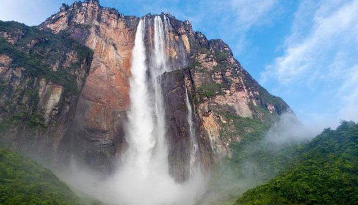 ''اینجل'' دنیا کی سب سے بلند آبشار