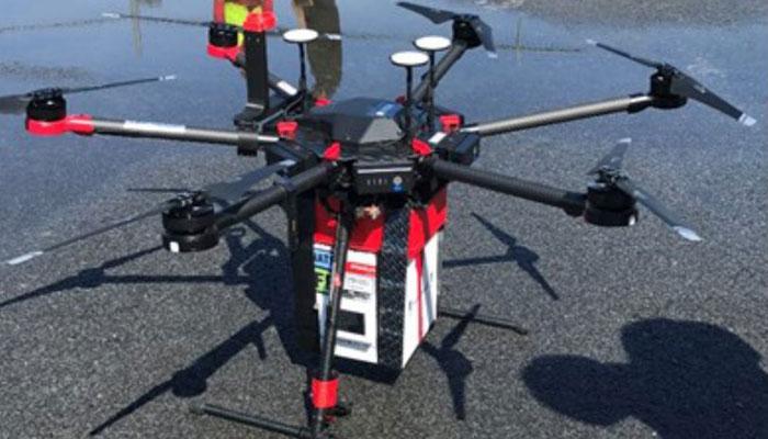 امریکا، ڈرون سے گردے کی اسپتال ڈیلیوری