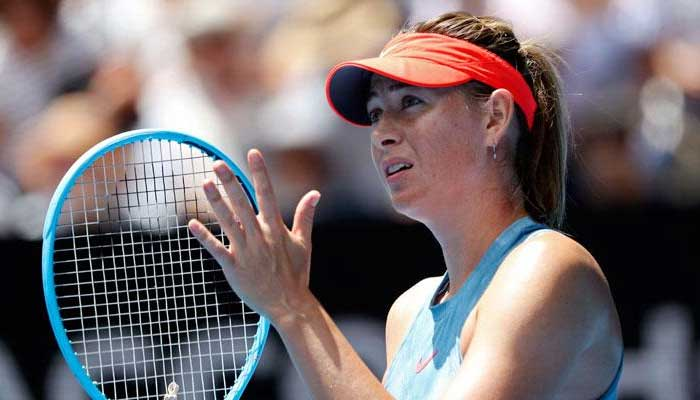 ماریا شراپوا اٹالین ٹینس سے دستبردار