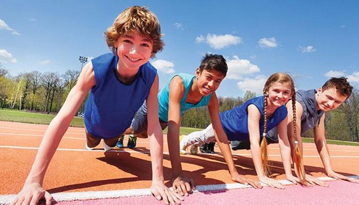 بچوں کو ذہین بنانا ہے تو جسمانی فٹنس پر توجہ دیں