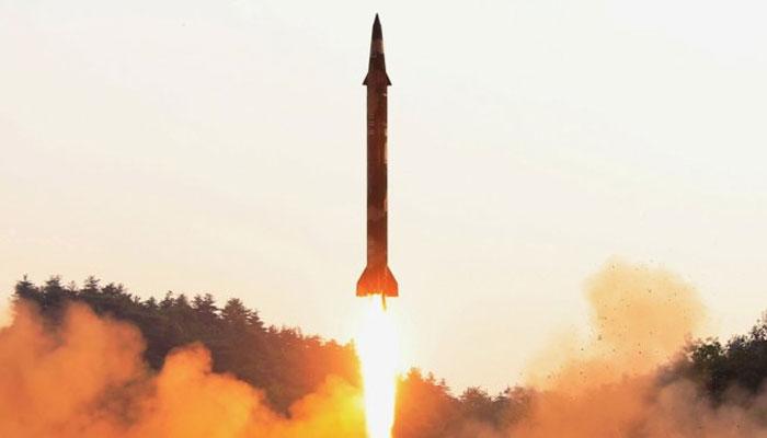 شمالی کوریا کا طویل فاصلے تک مار کرنے والے ملٹپل راکٹ کا تجربہ