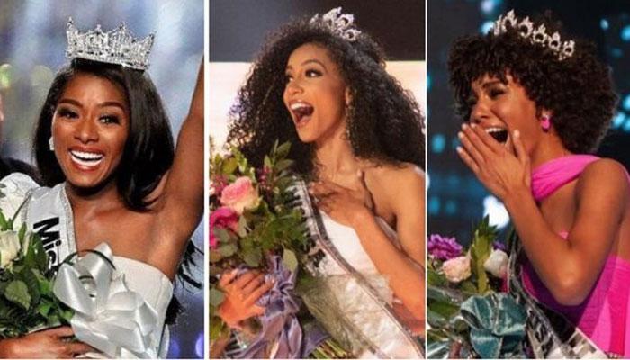 امریکا کے تینوں بڑے مقابلہ حُسن سیاہ فام خواتین کے نام