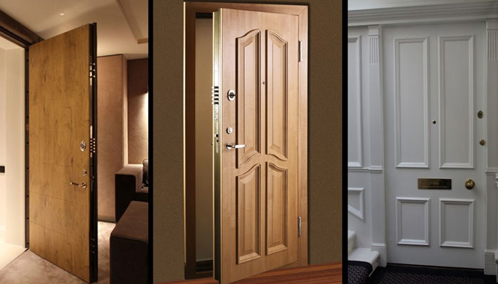 گھر کے اسٹائلش اندرونی دروازے