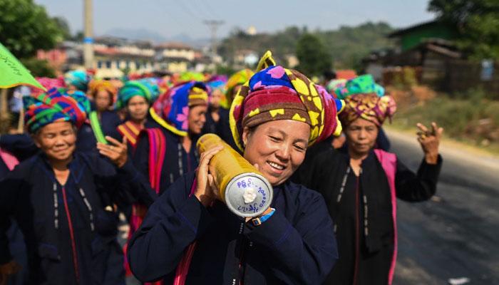 میانمارمیں سالانہ راکٹ فیسٹیول کا انعقاد