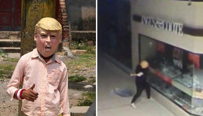 آسٹریلیا: ڈاکو نے ٹرمپ کا ماسک لگا کر دکانیں لوٹ لیں