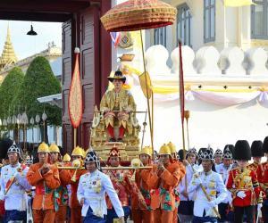 تھائی لینڈ میں نئے بادشاہ کی تاج پوشی