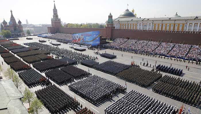 ماسکو،وکٹری ڈے پریڈ کی تیاریاں عروج پرپہنچ گئیں