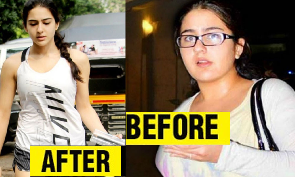 سارہ علی خان نے96 سے 50 کلو وزن کیسے کیا ؟
