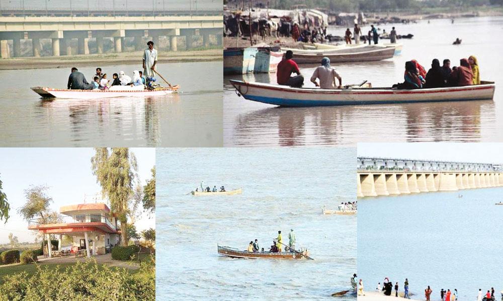 حیدر آباد کی مشہور تفریح گاہ ''المنظر''