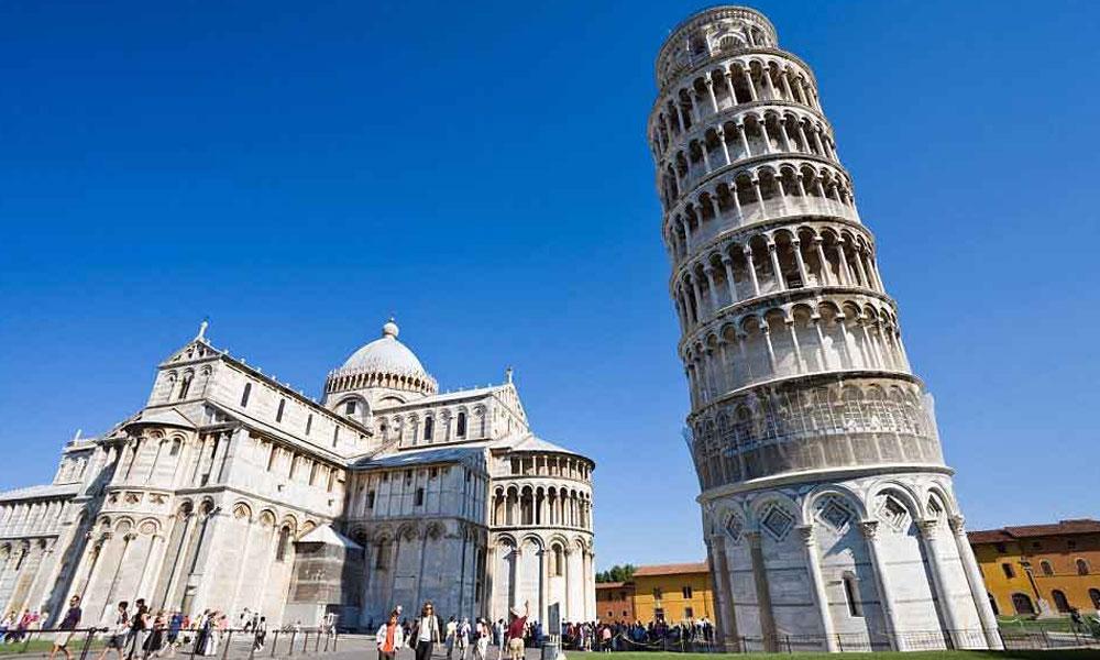 500 سال پرانا ''پِیسا ٹاور''