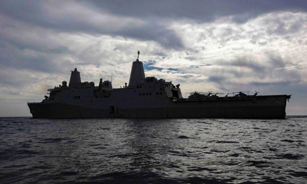 امریکا کا ایمفیبیس جنگی جہاز مشرق وسطیٰ بھیجنے کا اعلان