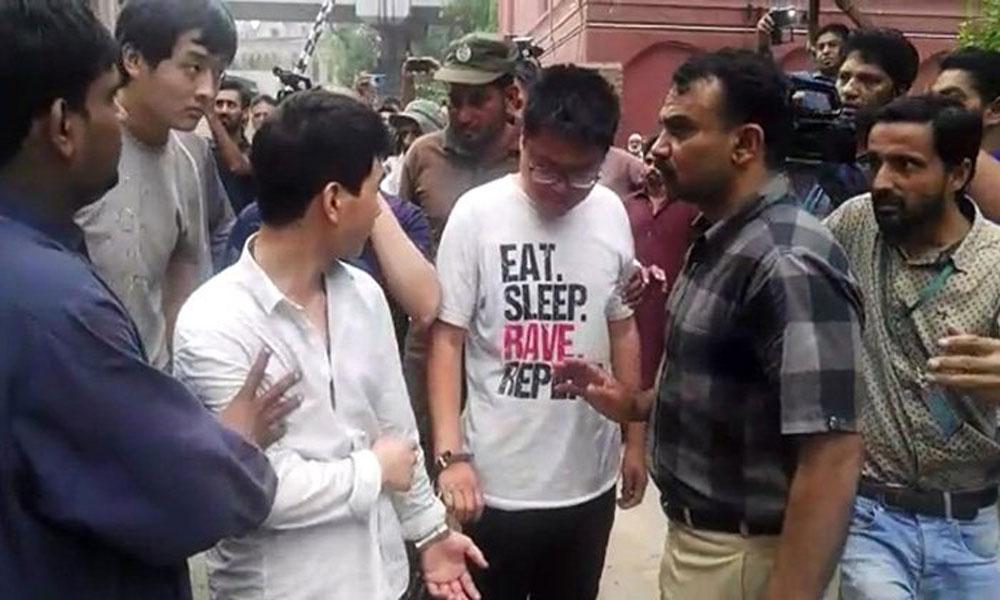 گرفتار 11 چینی شہری جسمانی ریمانڈ پر ایف آئی اے کے حوالے
