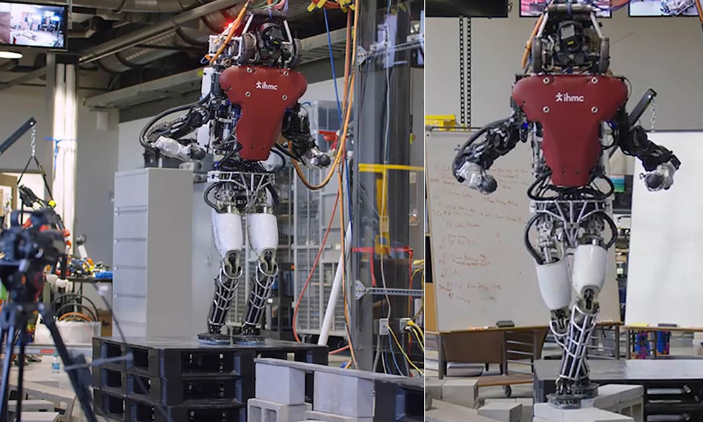 تنگ راستوں پر چلنے والا جدید ترین روبوٹ متعارف