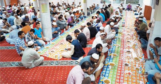 رمضان المبارک کی رونقیں