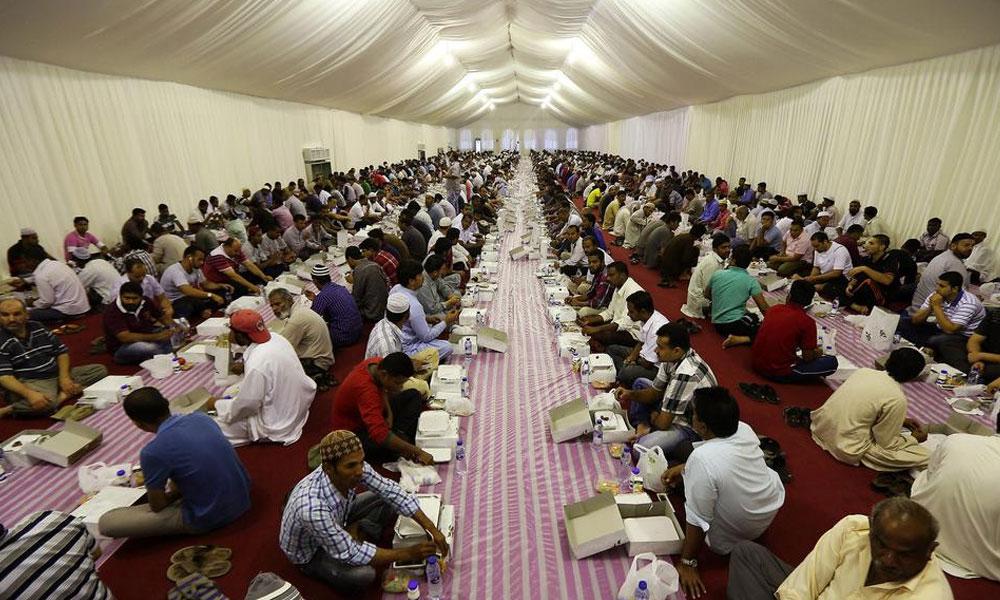 متحدہ عرب امارات کا سب سے بڑا دستر خوان