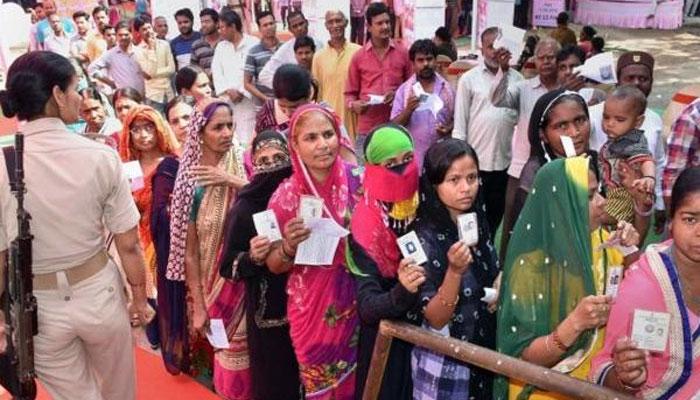 بھارت، چھٹے مرحلے کیلئے 59 حلقوں میں پولنگ جاری