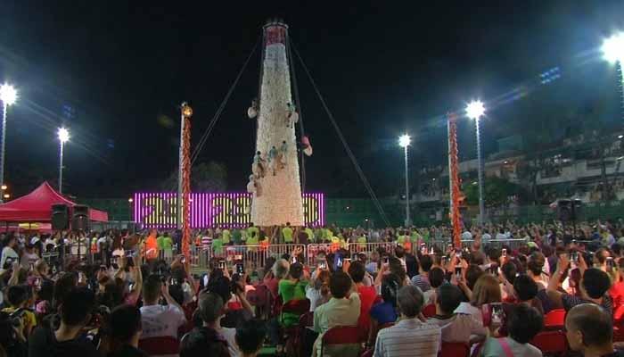 ہانگ کانگ میں روایتی بن فیسٹیول