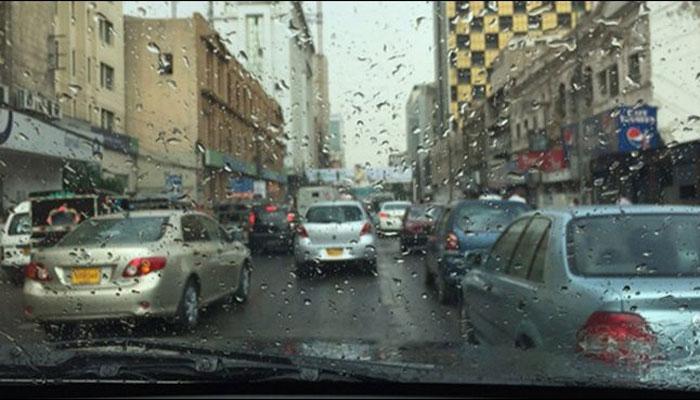 جمعرات اور جمعے کو کراچی میں بارش کا امکان