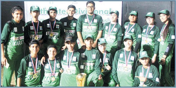 حیدرآباد میں سافٹ بال کا میلہ کامیاب رہا