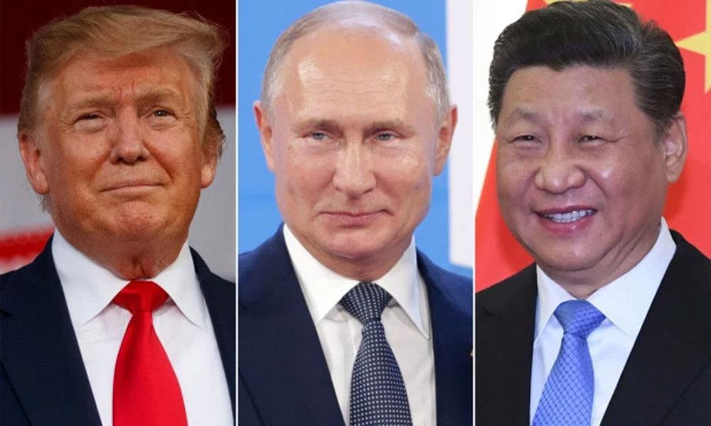 امریکی صدر کی اگلے ماہ چینی و روسی صدور سے ملاقاتیں متوقع