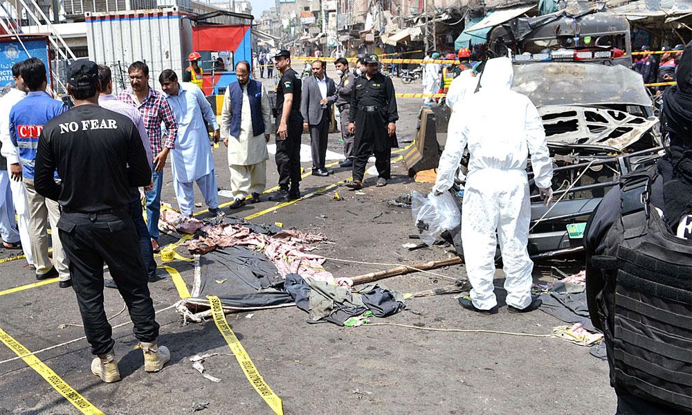 لاہور کے 2 دھماکوں میں ایک جیسا بارودی مواد استعمال ہوا