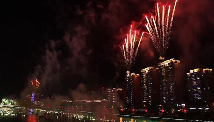 چین: آتش بازی کا14واں سالانہ انٹرنیشنل فیسٹیول