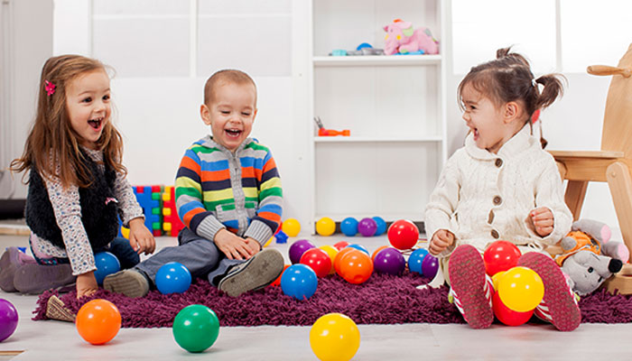 بچوں کی تربیت میں کھیل کود