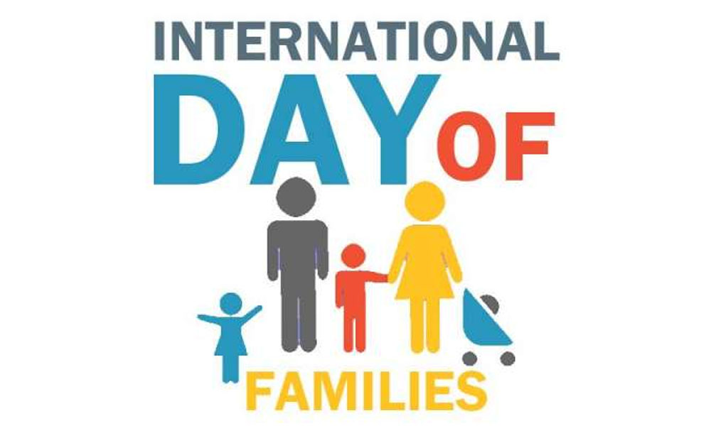 'خاندان کا عالمی دن آج منایا جارہا ہے '