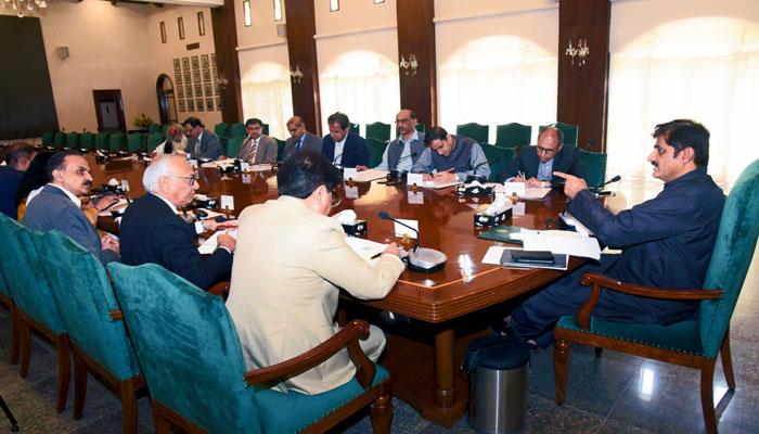 سرکلر ریلوے اجلاس، وزیراعلیٰ کی وفاق سے رابطے کی ہدایت