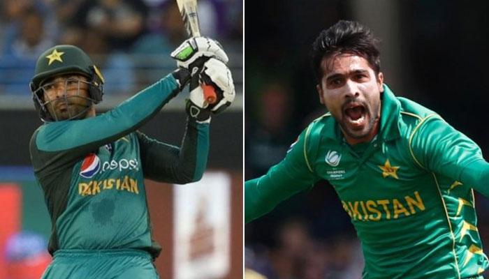پاکستان کے ورلڈ کپ اسکواڈ میں آصف، عامر کی شمولیت