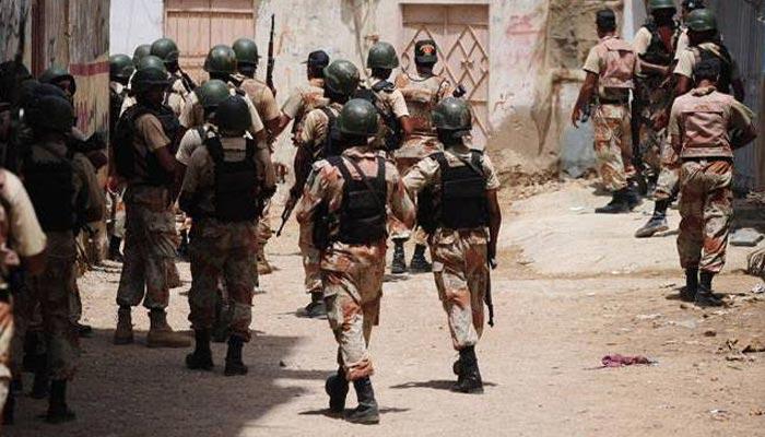 کراچی: رینجرز کی کارروائی، 7ملزمان گرفتار
