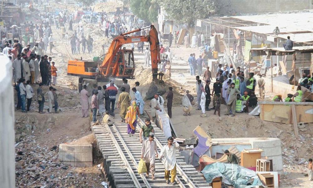 بحالیٔ سرکلر ریلوے، کراچی میں آپریشن کا تیسرا دن