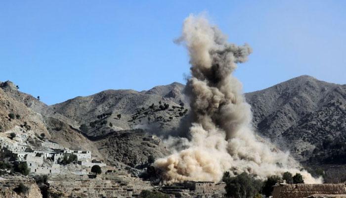 افغانستان میں اتحادی فوج کا فضائی حملہ،17 پولیس اہلکار ہلاک