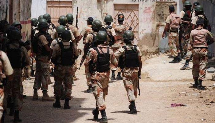 کراچی: کلاکوٹ میں رینجرز کی کارروائی، قتل کا ملزم گرفتار