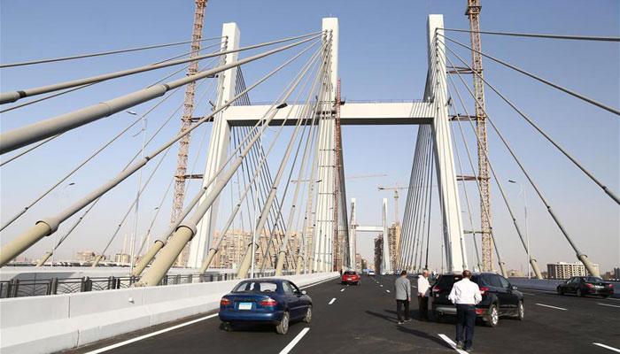 مصر:دریائے نیل پرسب سے چوڑے سسپنشن برج کا افتتاح