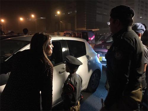 تھیلیسیمیا کا ننھا مریض ایک دن کا پولیس افسر بن گیا