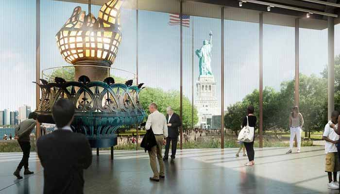 امریکا :اسٹیچیو آف لبرٹی میوزیم کوعوام کیلئےکھو ل دیا گیا